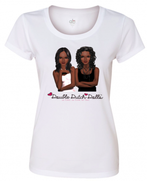 Double Dutch Dolls logo tee